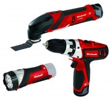 Multimaskin SET  Einhell TE-TK 12 Li Batteri